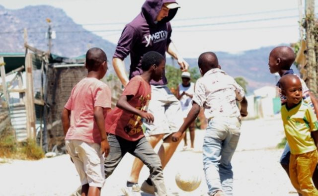 Football / soccer DTS outreach