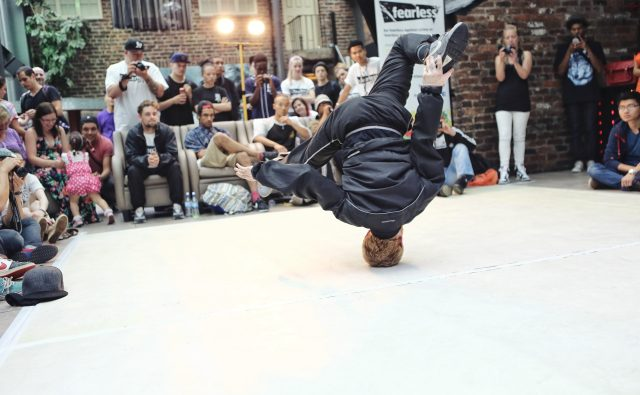 Evangelism: break dance